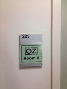 The Room Backstage at Dr. Oz